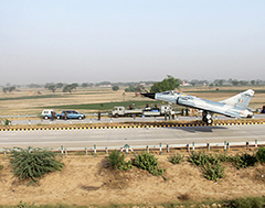 Govt. doubles 17 border roads as airstrips