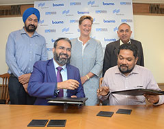 EEPC India signs MoU with Messe München India for bauma 2019