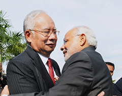 India-Malaysia infra pact