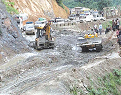 Imphal Jiribam National Highway