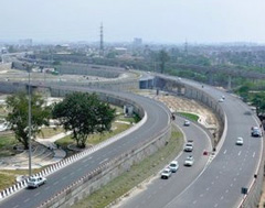 Delhi plans new elevated road project