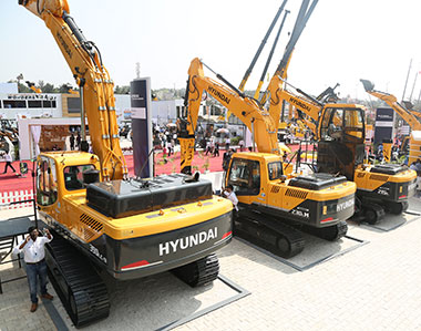 New Products by Hyundai Construction Equipment India