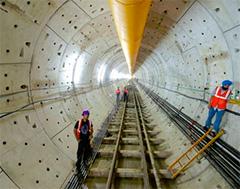 Chennai Metro tunneling works