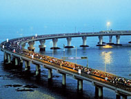 Sea Link Project Bandra And Versova