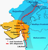 Western Dedicated Freight Corridor project