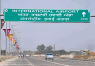 Chandigarh Mohali Airport Road