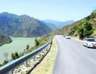 Chandigarh Manali National Highway Project