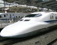 High-speed bullet train