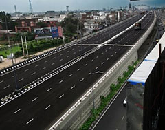 four-lane flyover project