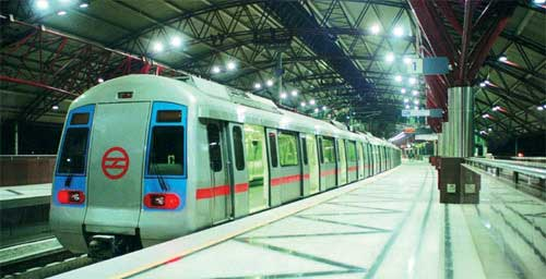 Metro Rail Transport System In India