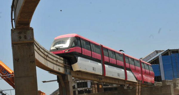 First Indian Monorail starts operations in Mumbai