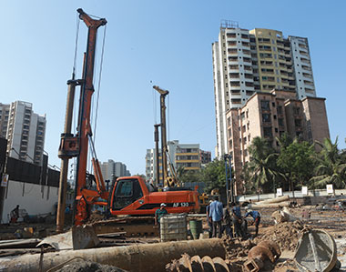 Modern Construction Equipment Integral to Real Estate Development