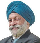 Professor Charanjit Singh Shah, Founding Principal of Creative Group
