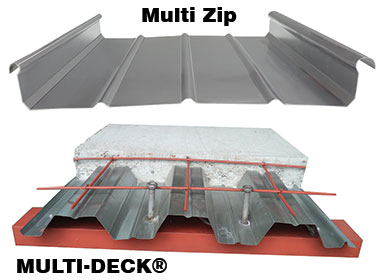 Multi Zip and Multi Deck