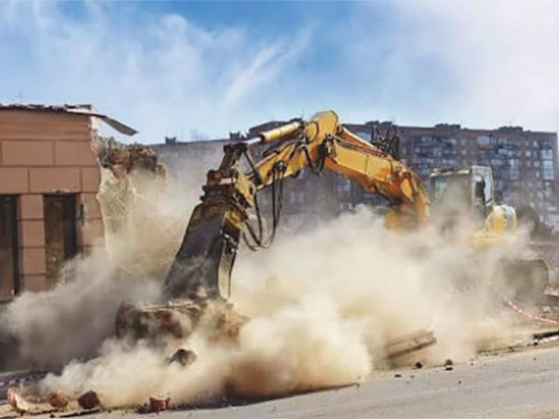 Construction Dust Causes, Effects and Remedies