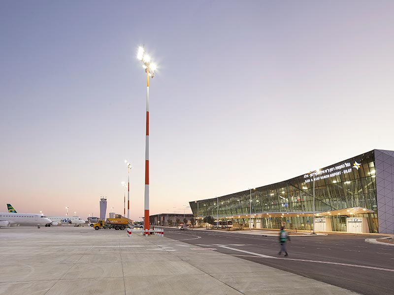 THE ILAN AND ASAF RAMON INTERNATIONAL AIRPORT