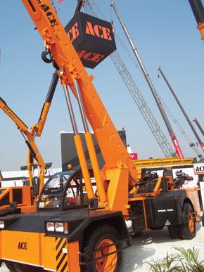 ACE Mobile Crane