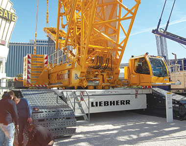 Crawler Cranes: Now Even More Advanced