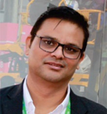 Souma Ray, Director, Haulotte India