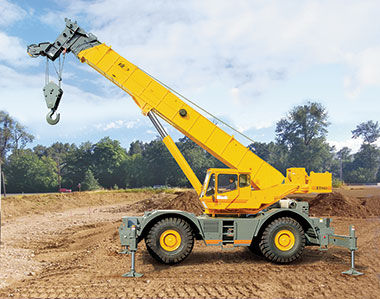 Rough Terrain Cranes On Resurgent Mode