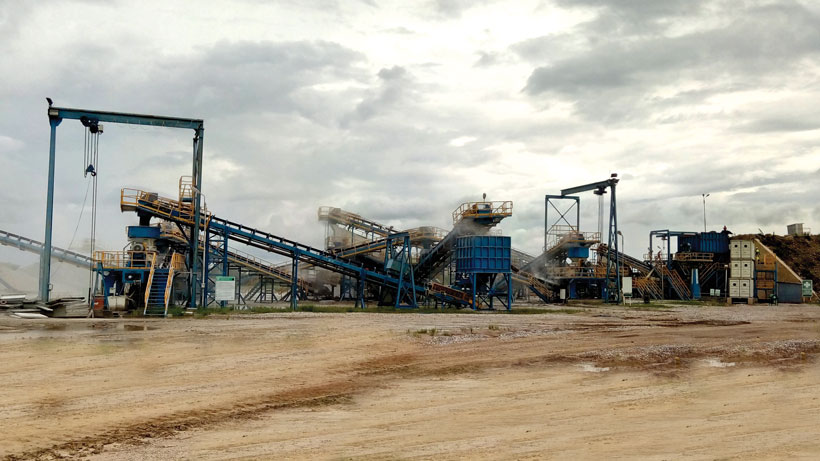 Crusher Manufacturers Lafarge Plant