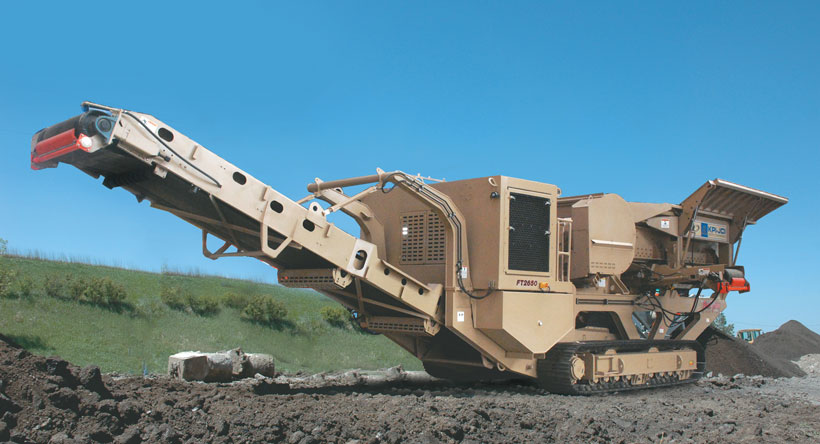 Track Jaw Crusher FT2650