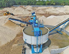 CDE Asia's Combo X150 Mobile Washing Plant for Superior M(Manufactured) Sand Production