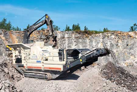 Projections: Crushing & Screening Equipment Business