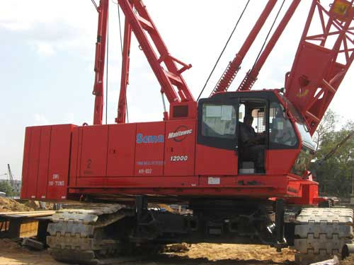 Making Safe Use of Crawler Cranes