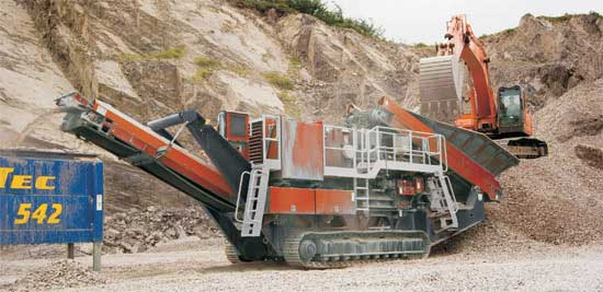 Mining/quarry Equipment-Stone Crusher Screen Sand Manufacturing
