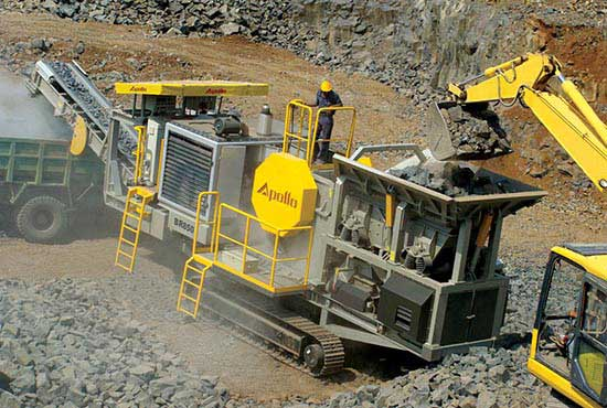 Crusher Manufacturers Betting for Higher Output