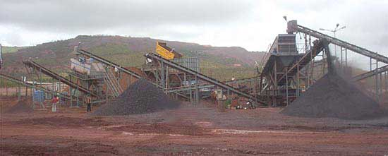 NAWA Crushing Plant