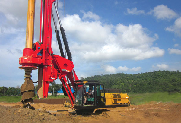 Rotary Piling Rigs