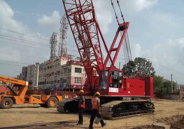 Crawler cranes manufacturers in India looks heightened business activities – A report