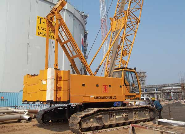 Cranes rental companies are confidant of good demand in India