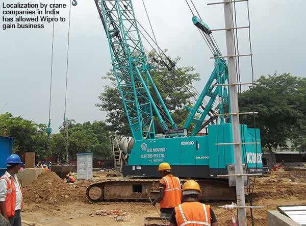 Components & spares: Vendors witness rising demand from cranes manufacturers