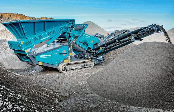 Powerscreen Warrior 600 Crusher