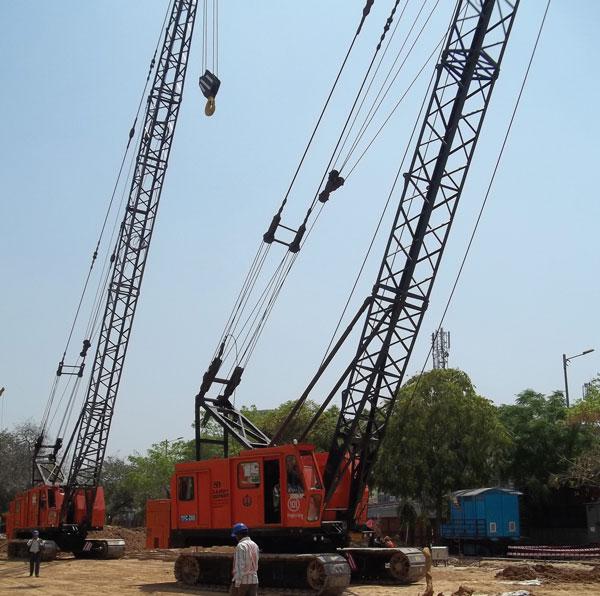 Relief in Sight for Delhi based Crane Rental Agencies?