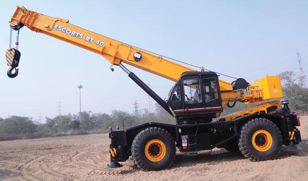 Rough Terrain Crane Application : Rough terrain cranes oems see rising potential