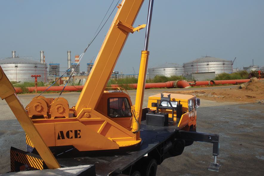 ACE Truck Crane
