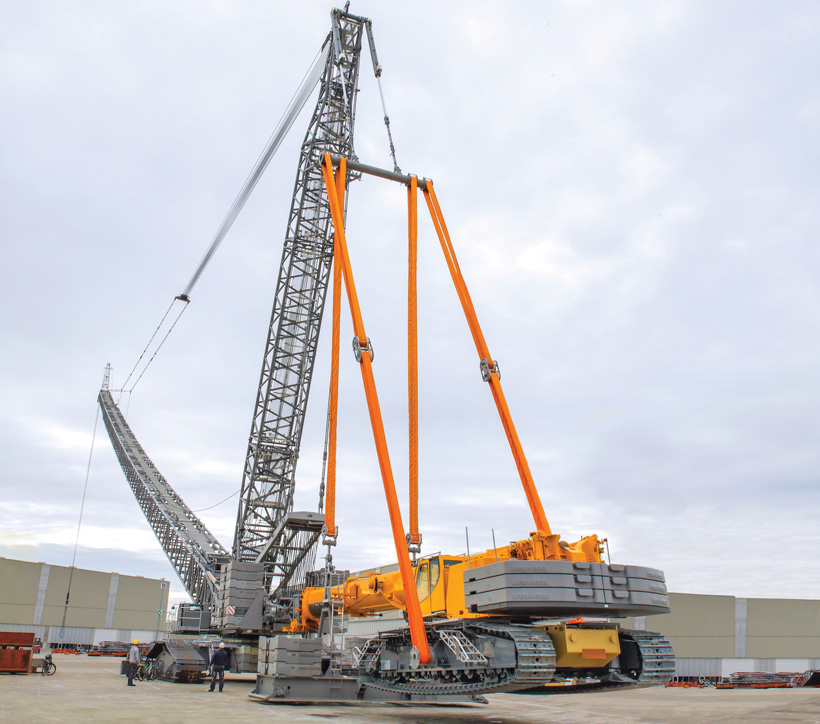 Crawler Cranes: Manufacturers Count on Products & Support