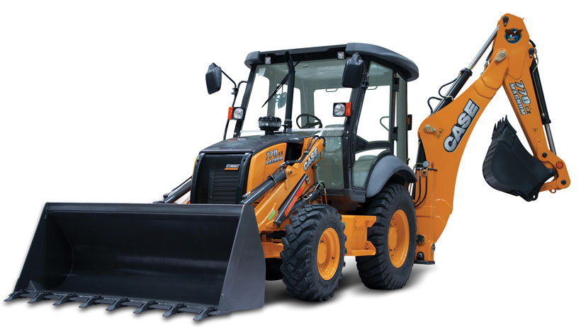 Case Magnum Backhoe Loader