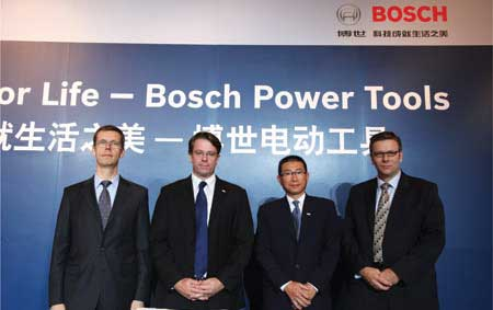 Bosch Press Meet at Shanghai