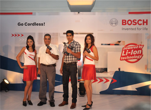 Bosch: Cordless Power Tools With Lithium-Ion Technology