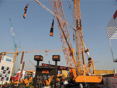 ACE Launches ACX 750 hydraulic crane