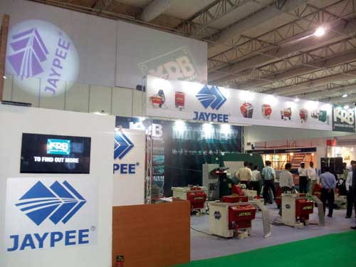 Jaypee exhibits its latest innovations