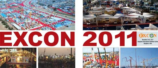 Excon 2011-India's Largest Construction Equipment Trade Fair