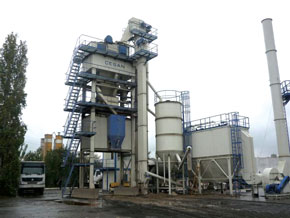 Cesan Asphalt Batch Mix Plants