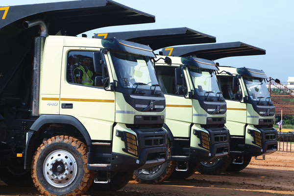 Volvo India Tipper TRuck