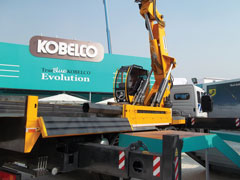Truck Mounted Telescopic Knuckle Boom Crane